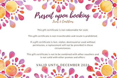 Amatsu Therapy Gift Voucher